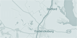 fredericksburg radiation our location